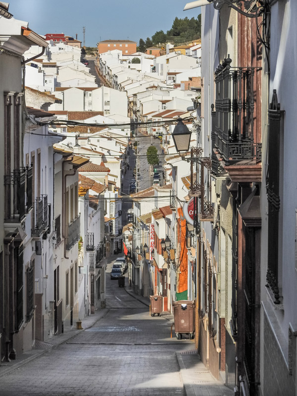 very downward and upward street